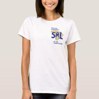 T-shirt Chemise de sourire du SHL des femmes
