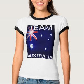 T-shirt Chemise de sports de l'Australie d'équipe