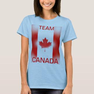 T-shirt Chemise de sports du Canada d'équipe