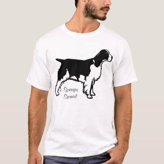 T-shirt Chemise de springer spaniel