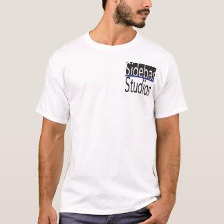 T-shirt Chemise de studios de barre latérale avec la