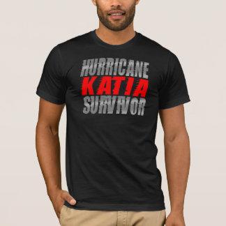 T-shirt Chemise de survivant de Katia d'ouragan