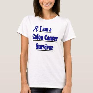 T-shirt Chemise de survivant du cancer du colon de Julie