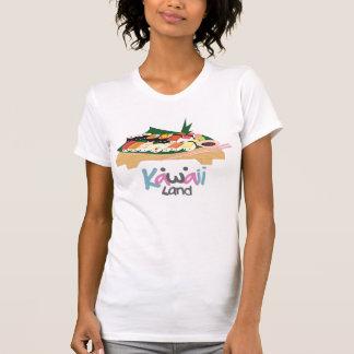 T-shirt Chemise de sushi d'usage de canneberge