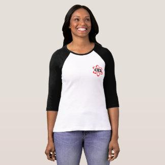 T-shirt Chemise de symbole d'atome de CES