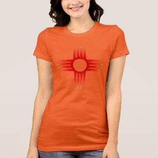 T-shirt Chemise de symbole de Zia Sun