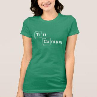 T-shirt Chemise de Tableau périodique de canon de bidon -