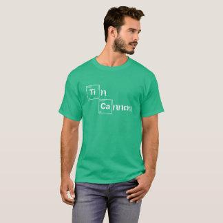 T-shirt Chemise de Tableau périodique de canon de bidon