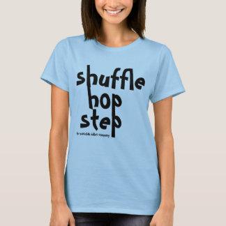 T-shirt chemise de taqueur d'étape d'houblon de pas