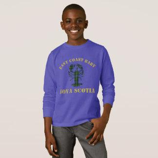 T-shirt Chemise de tartan de homard de la Nouvelle-Écosse