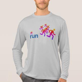 """T-shirt Chemise de Tek de """"coureurs"""" de centre de"""