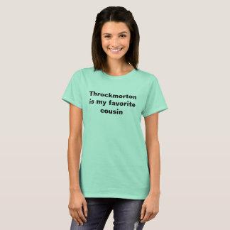 T-shirt Chemise de Throckmorton (hommes, femmes, et