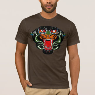 T-shirt Chemise de tigre de Roarin