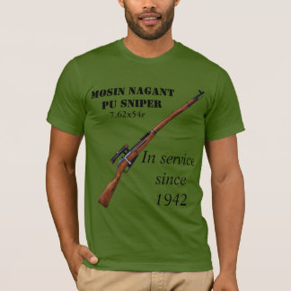 T-shirt Chemise de tireur isolé d'unité centrale de Mosin