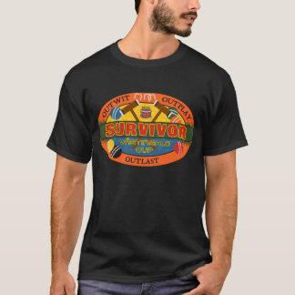 T-shirt Chemise de tournoi de croquet de tasse de