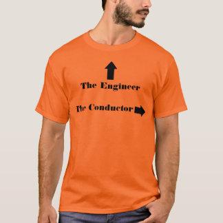T-shirt Chemise de train