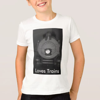T-shirt Chemise de trains d'amours