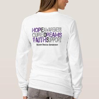 T-shirt Chemise de traitement de conscience d'espoir d'EDS