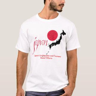 T-shirt Chemise de tremblement de terre du Japon et de