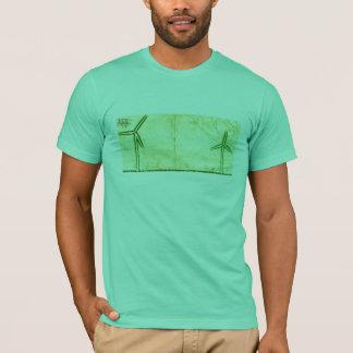 T-shirt Chemise de turbine de vent