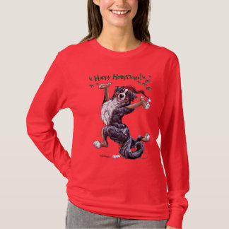 T-shirt Chemise de vacances de chien de montagne de
