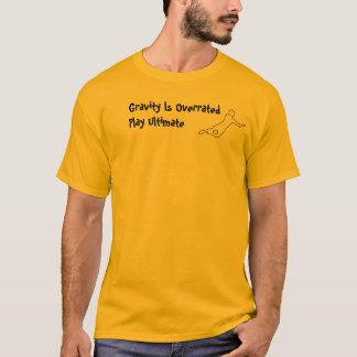 T-shirt Chemise de valeur de gravité