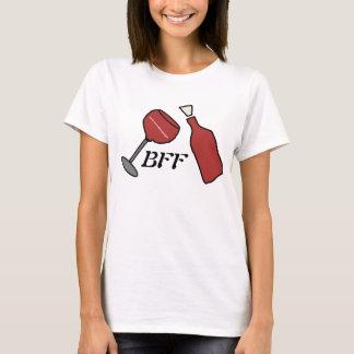 T-shirt Chemise de vin de BFF