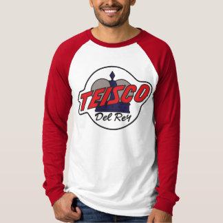 T-shirt Chemise de Vintage Teisco Del Rey Guitar