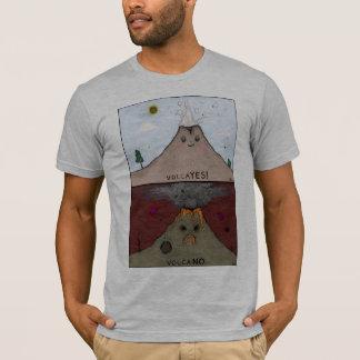 T-shirt Chemise de volcan