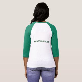 T-shirt Chemise de #WATCHMEWORK pour des Lync-Ruisseaux