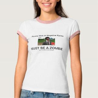 T-shirt Chemise de zombi de karma
