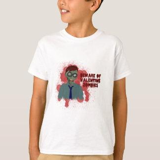 T-shirt Chemise de zombis de Valentine