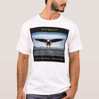 T-shirt Chemise d'Eagle chauve des hommes d'approche