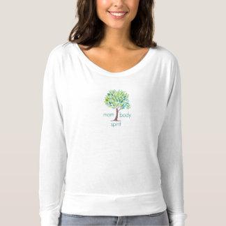 T-shirt Chemise débordante d'esprit de corps de maman de