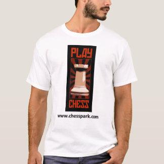 T-shirt Chemise d'échecs de jeu