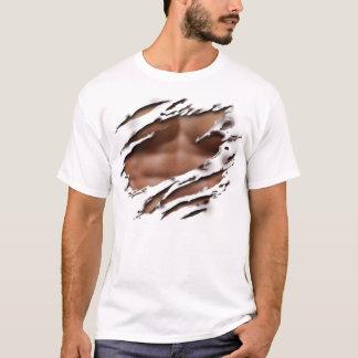 T-shirt Chemise Déchirée