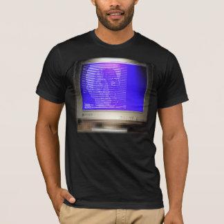 T-shirt chemise d'écran d'ART de la Tube-Écran-chemise