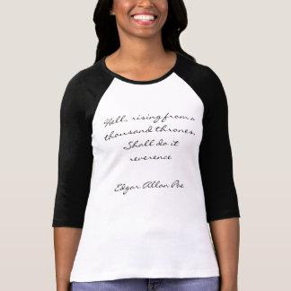 T-shirt Chemise d'Edgar Allan Poe
