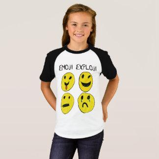 T-shirt Chemise d'Emoji Exploji