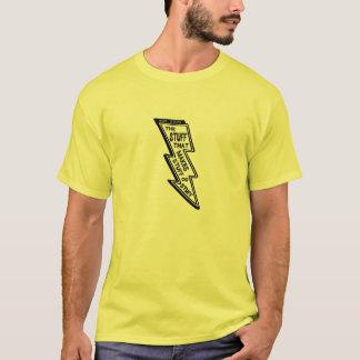 T-shirt Chemise d'énergie de TIGE d'axe