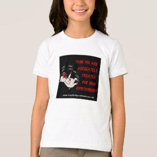 T-shirt CHEMISE d'ENFANTS - arrêtez la folie thyroïde