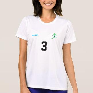 T-shirt Chemise d'équipe de football des femmes