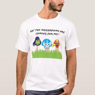 T-shirt Chemise des champignons des Hommes-Luchador