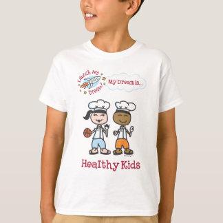 """T-shirt Chemise """"des enfants en bonne santé"""" de Remmi"""