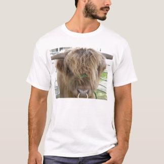 T-shirt Chemise des montagnes de taureau de bétail