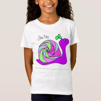T-Shirt Chemise d'escargot pour des filles