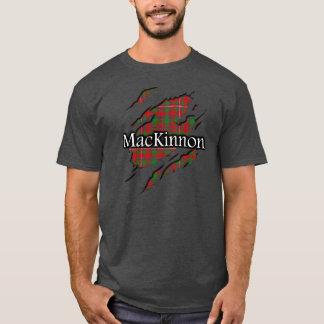 T-shirt Chemise d'esprit de tartan de MacKinnon de clan