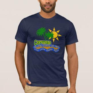 T-shirt Chemise d'état d'esprit de caïman - choisissez le