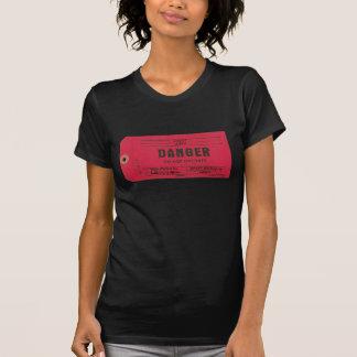 T-shirt Chemise d'étiquette de danger