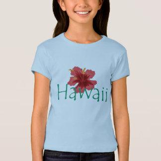 T-shirt Chemise d'Hawaï de filles